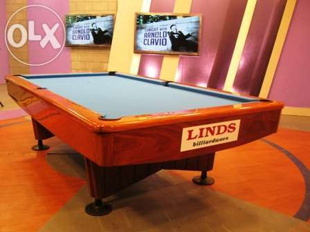 LE narra in italian slate pool billiard table