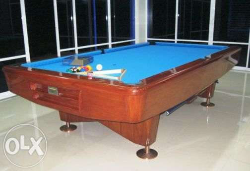 LE narra in italian slate pool billiard table