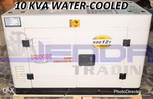 BIG SALE! ISHII 10KVA Water Cooled Super Silent diesel Generator !