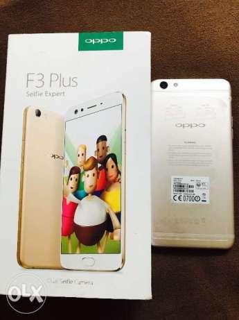 Oppo F3 Plus Gold