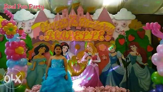 Disney Princess Themed Birthday Party Package