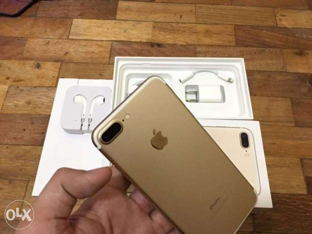 iphone 7 plus 32gb and 128gb globe locked gold complete