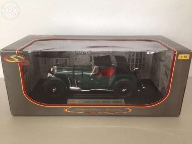 Diecast Car 1934 Aston Martin Mark II