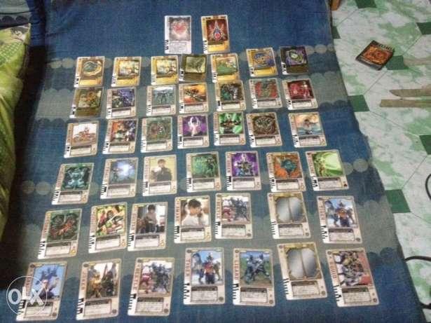 Kamen rider blade Cards