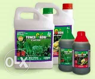 Dynapharm Power Grow Organic Foliar Fertilizer Red and Green