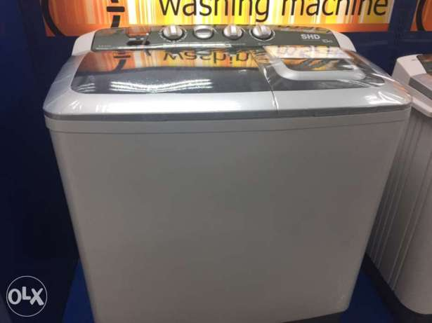 American Home Awt-1016ad 10 Kg. Twin Tub Washing Machine Wash Dryer