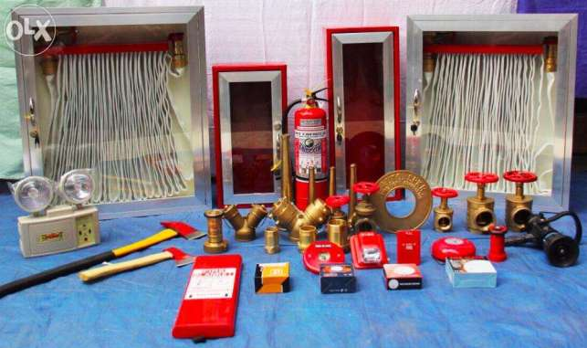 Fire Hose Cabinet Complete Set and Fire Protection System