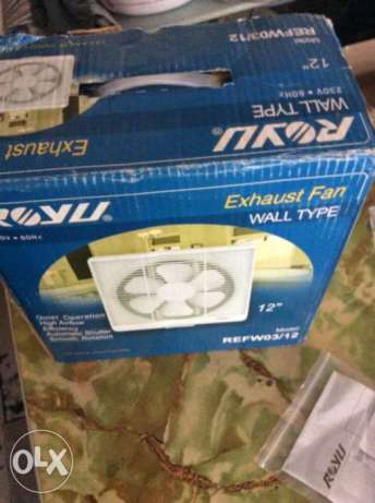 Royu Exhaust Fan