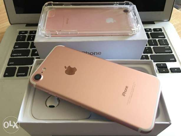 iPhone 7 128gb Rose Gold Like New Openline LTE Complete Check Feedbck
