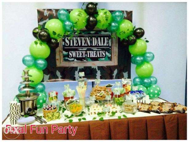 Military Soldier Theme Promo Party Package