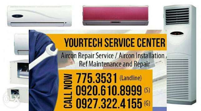Aircon and Ref repair in paranaque. full services, cleaning install