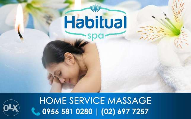 Professional Home Service Massage by Habitual Spa