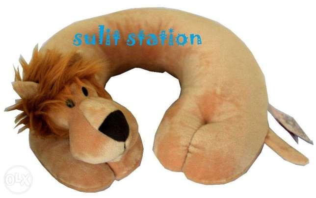 Peppa Pig My Little Pony Frozen stitch baymax pooh travel neck pillow