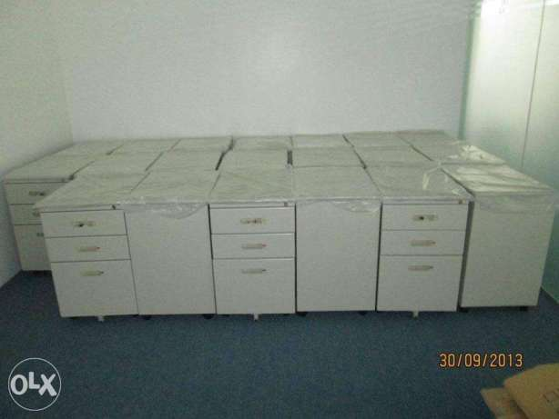 3 Drawer centralize key lock steel cabinet-office partition-chairs