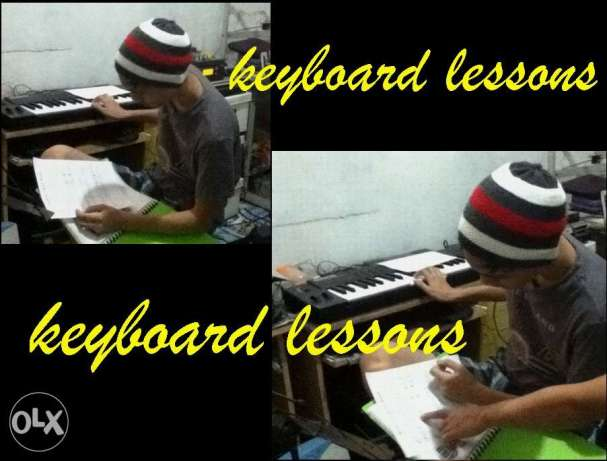 Keyboard Lessons With Free Acoustic Guitar