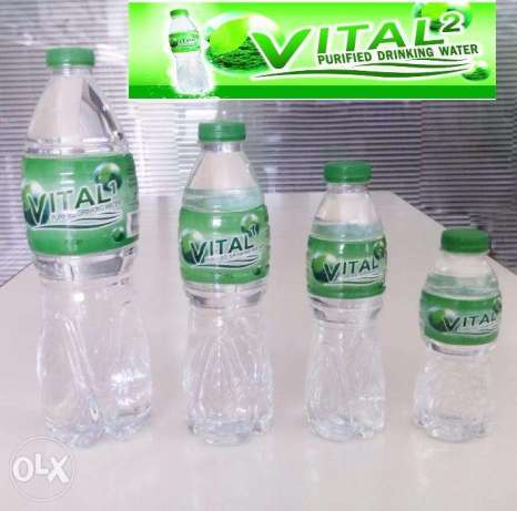 Vital Purified Bottled Water