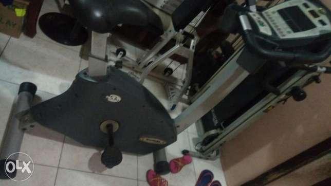 Bike and treadmills