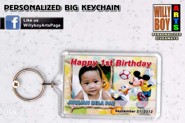 Birthday Souvenirs Personalized Giveaways Debut Wedding Baptism Party