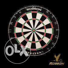 Dartboard ROBSON SET with Cabinet FREE 6PINS Free Shipping