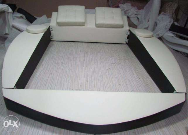 Bed Leather Wall Bed