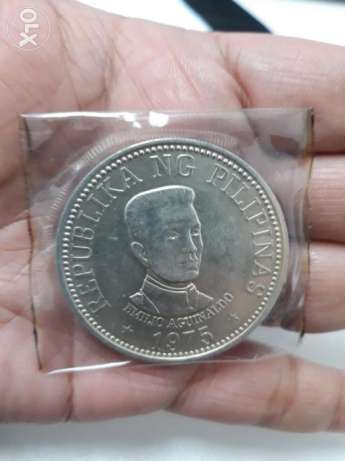 Emilio Aguinaldo silver coin