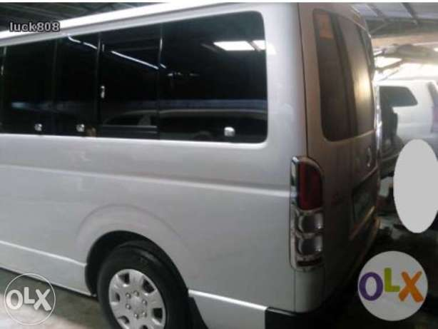 Cheap van for rent Manila or out of town