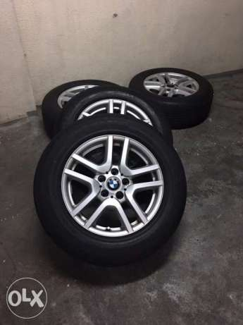 Mags and Tires for BMW