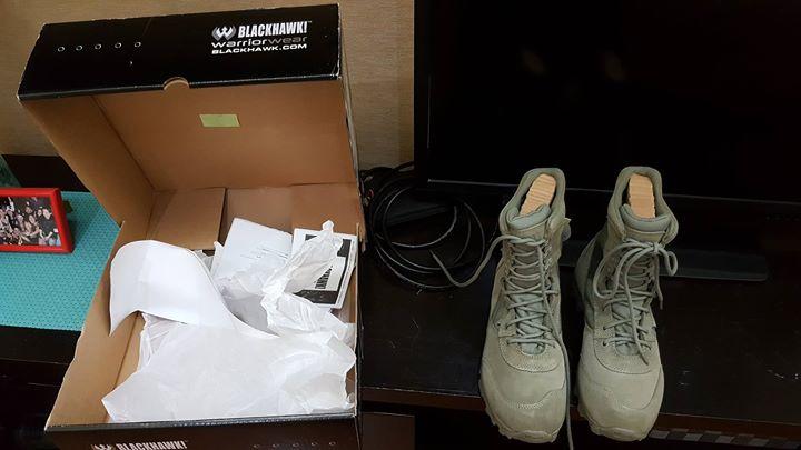 Blackhawk combat boots (Green)