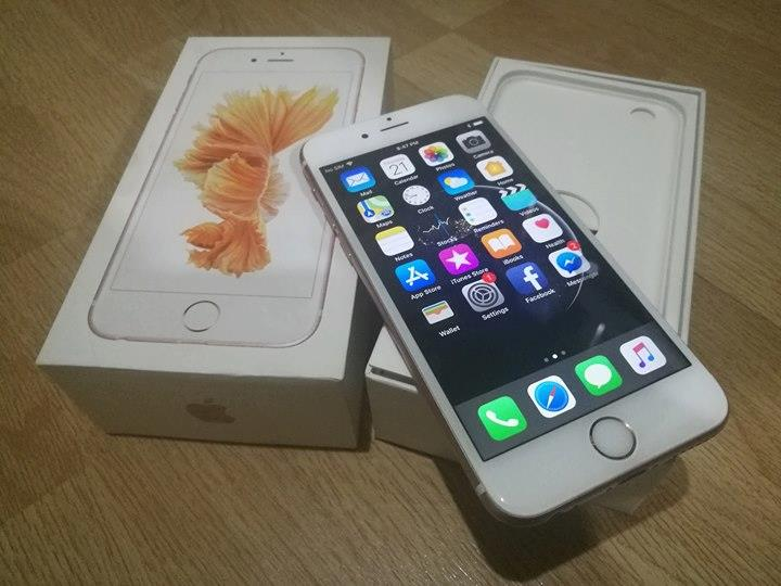 Iphone 6s Rose Gold 16gb Globe Complete