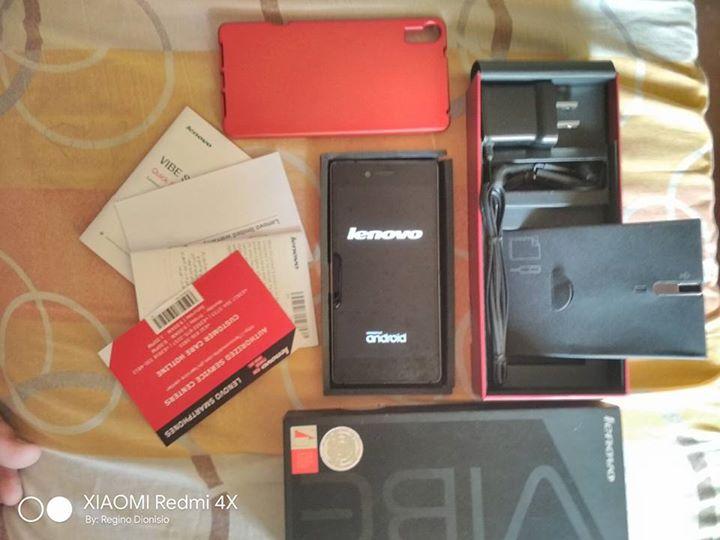 Lenovo Vibe Shot, Rush!!! Complete Package