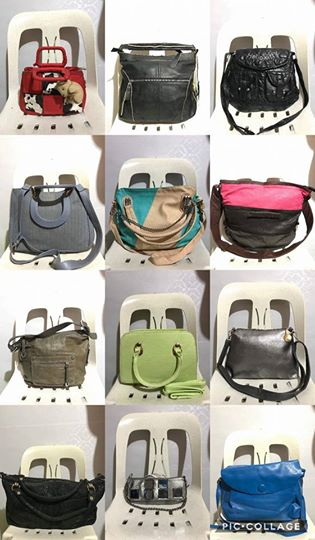 Preloved korean bags starts @ 100