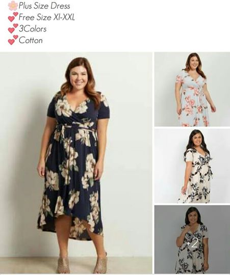 🌸Plus Size Dress👗L, XL, XXL, XXL