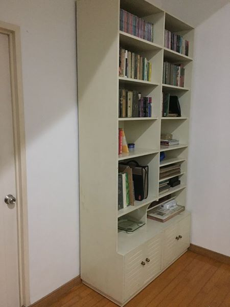 Display Bookshelf Cabinet
