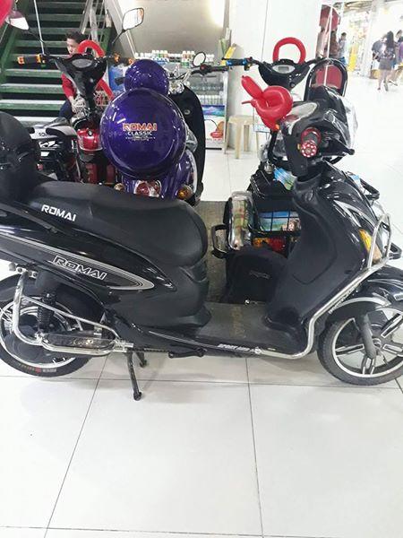 Nova E-bike. subok sa tibay.