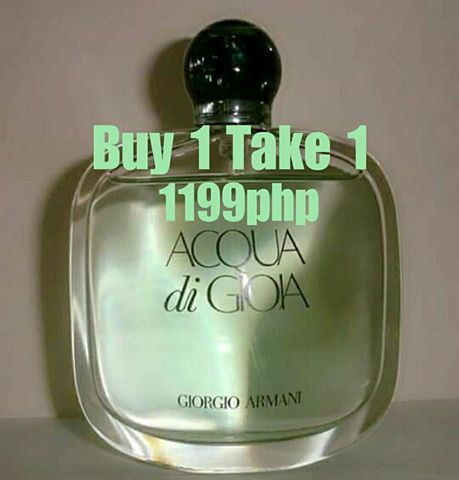 Authentic Tester Acqua Di Gioia 100ml For Women