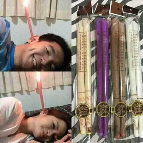 TRY IT ! EAR CANDLE !