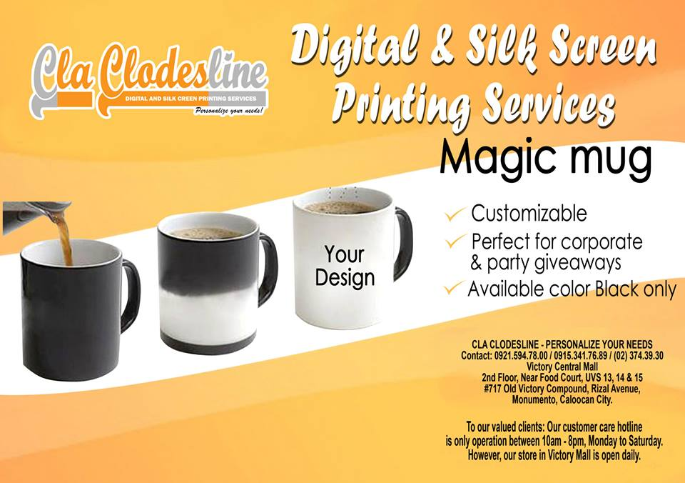 Magic Mug with print