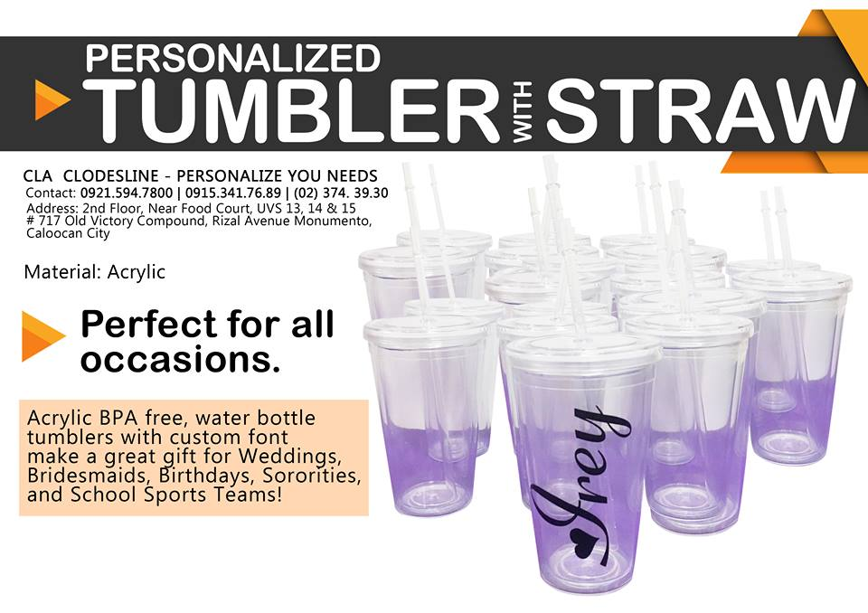 Straw Tumbler