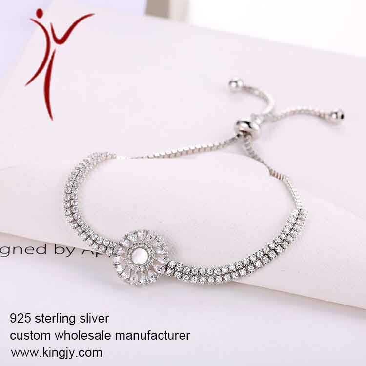 925 silver jewelry necklaces earring bracelet custom wholesale